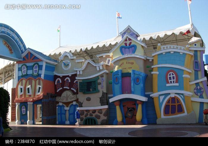 场卡通城堡图片