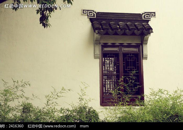 苏州拙政园门窗