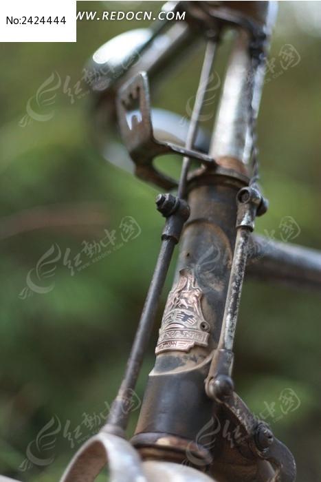 经典怀旧老式自行车图片
