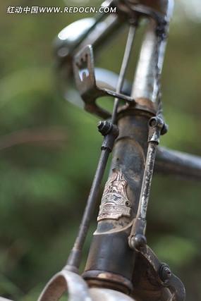 经典怀旧老式自行车