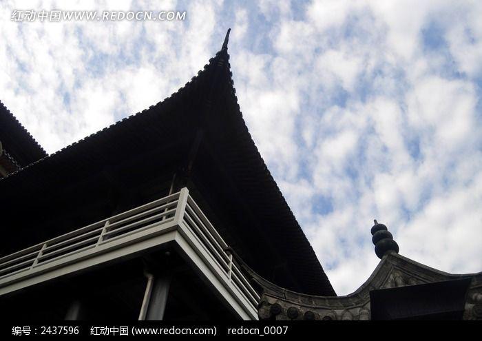 古风格建筑物图片