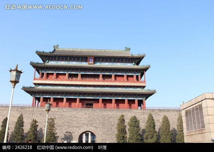 北京古建筑正阳门图片图片