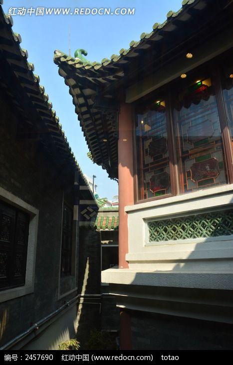 广州南园酒家仿古建筑高清图片下载_红动网