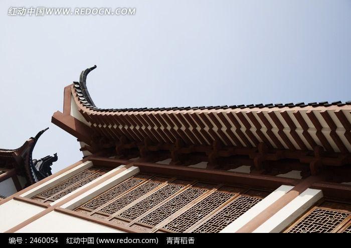 别致的中式屋檐图片