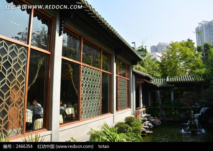 广州南园酒家仿古茶楼高清图片下载_红动网