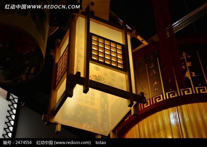 方形宫灯灯笼图片