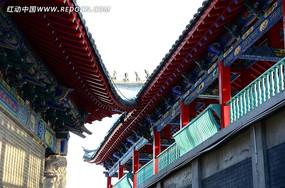 巧夺天工的中式古典风格屋檐