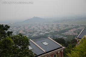 上海佘山 远东天主大教堂眺望台