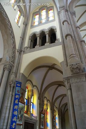 上海佘山远东天主大教堂内部