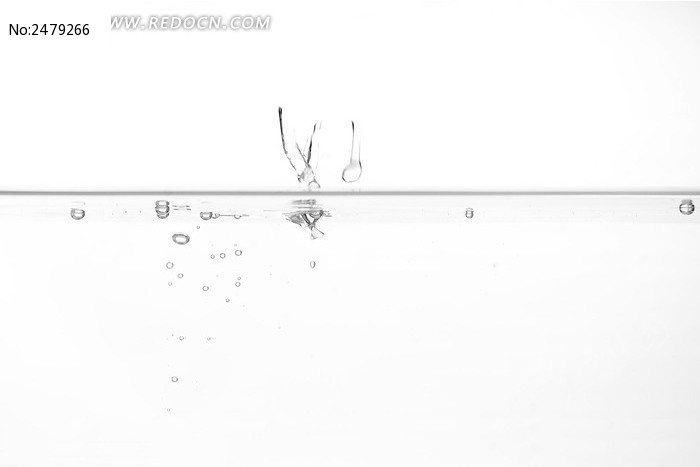 气泡水墨素材图片