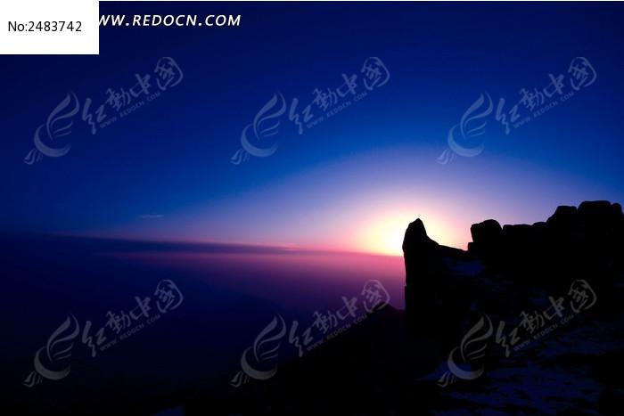 山东泰山日出图片