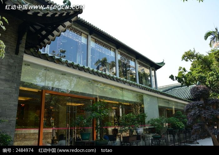 广州南园的新中式建筑图片