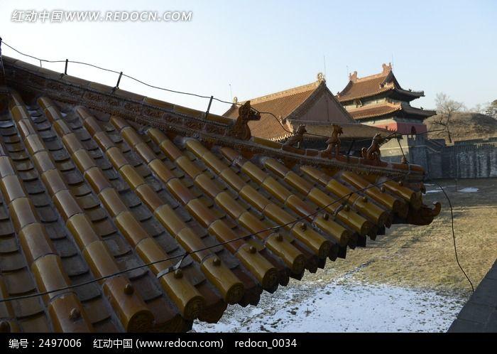 中国古建筑房檐