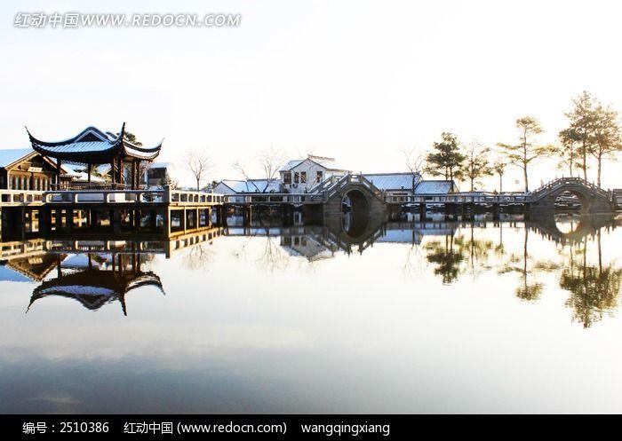 原创摄影图 自然风景 冰川雪地 苏州江南木渎水乡  请您分享: 红动网