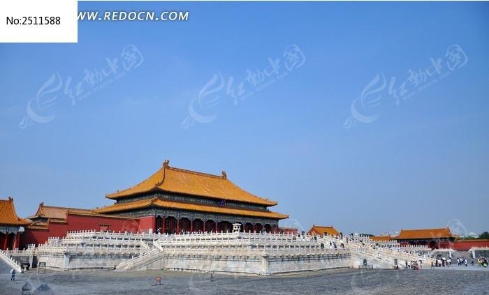 北京故宫全景图片高清图片