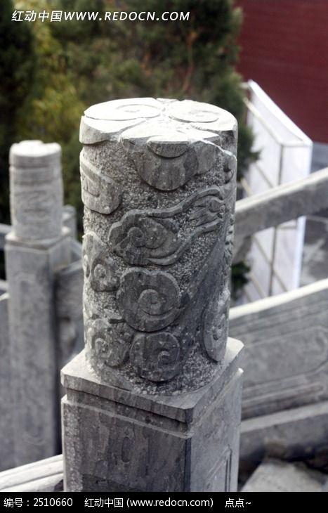 石雕柱子图片