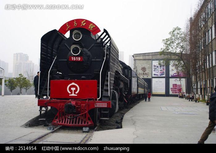 记忆-东方红蒸汽机车图片图片