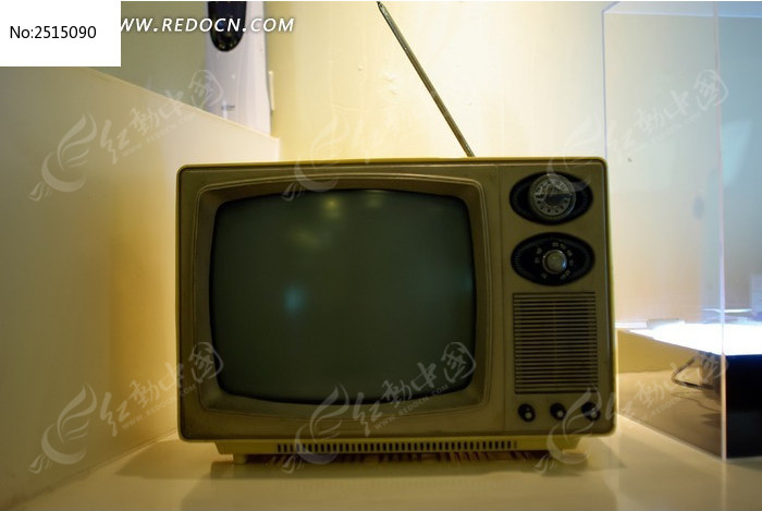 古老的电视机