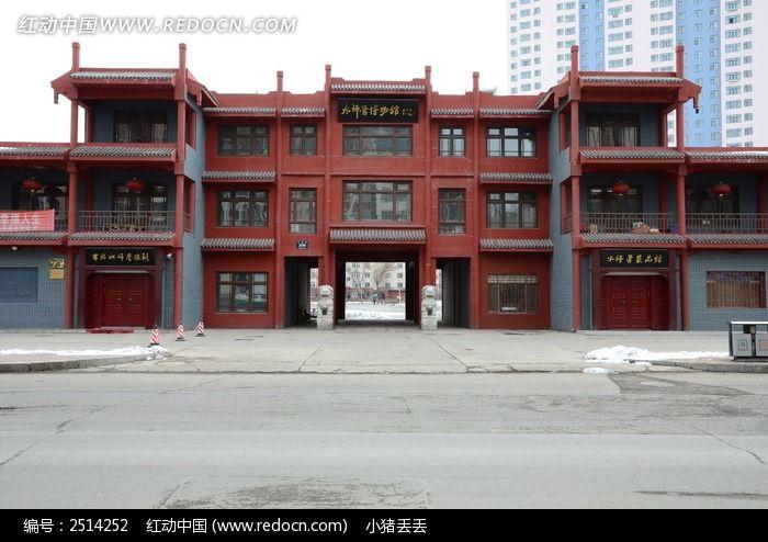 吉林水师博物馆图片,高清大图_教堂寺庙素材图片