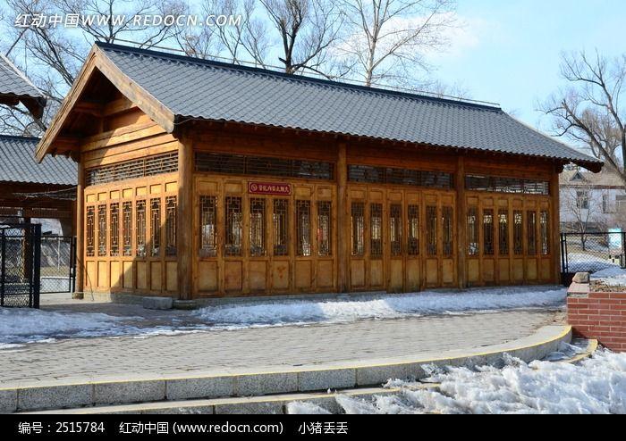 木结构建筑图片,高清大图