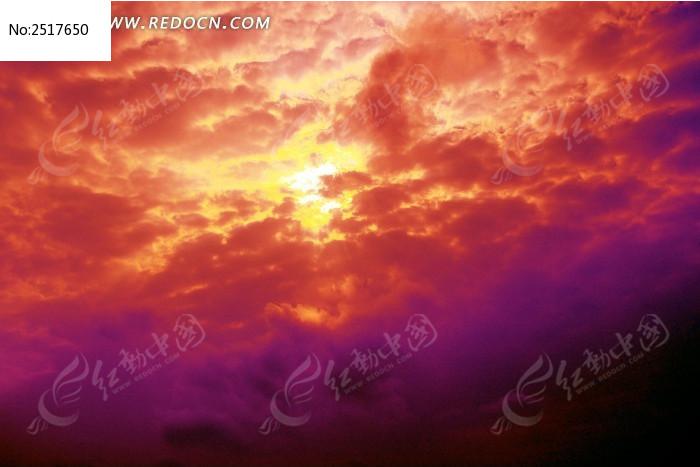 原创摄影图 自然风景 天空云彩 红云满天