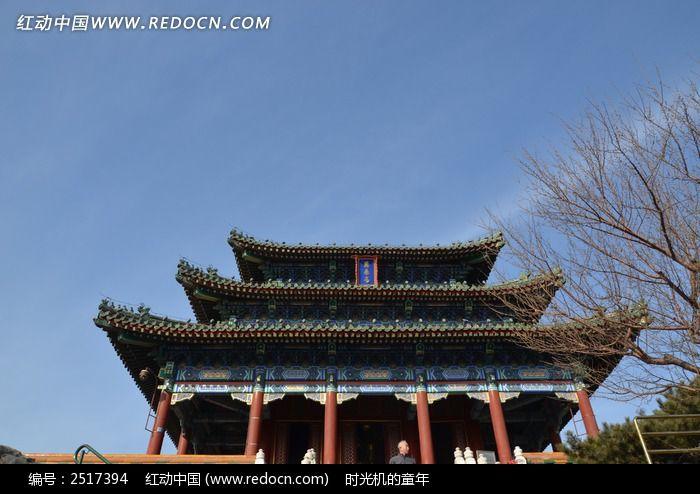 北京景山古建筑图片_建筑摄影图片图片