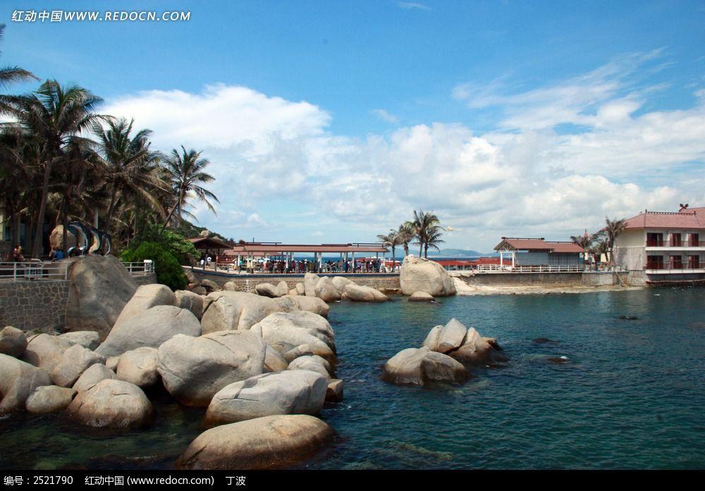 三亚分界洲岛渡口图片