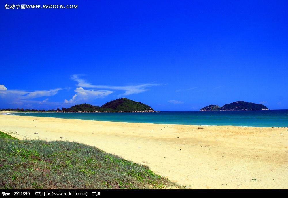 神州半岛沙滩图片
