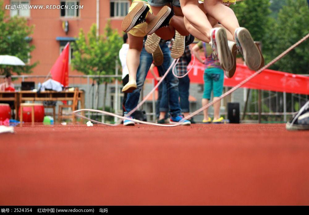 跳绳比赛图片