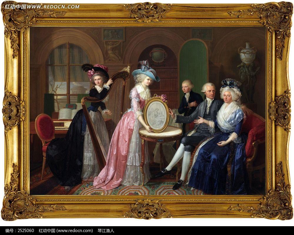 古典欧式油画图片,高清大图
