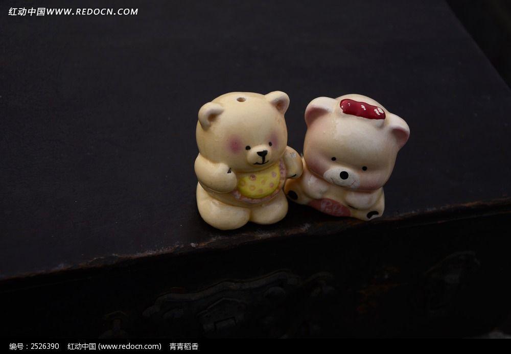可爱的两只小熊