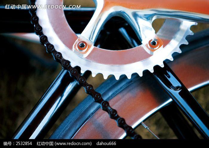 自行车齿轮图片 高清图片