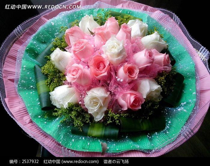 一束玫瑰花图片_动物植物图片