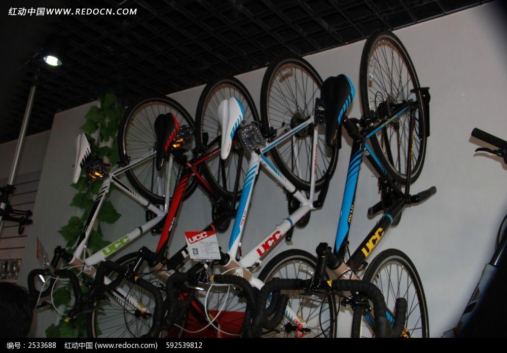 倒挂的自行车图片_科学技术图片