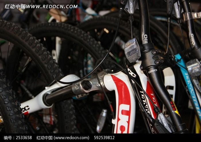 自行车车头图片_科学技术图片