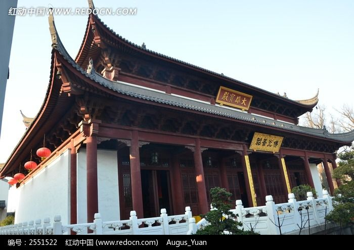 普提禅寺大雄宝殿图片,高清大图_名胜古迹素材图片