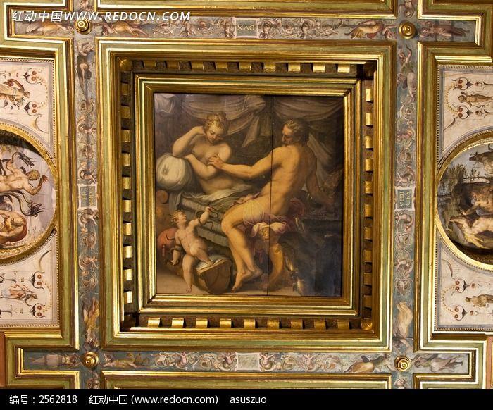 卢浮宫东立面手绘