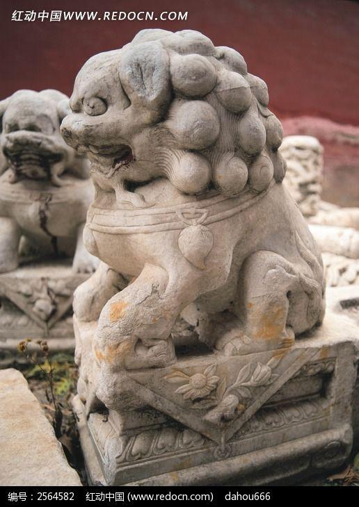 石狮子素材图片