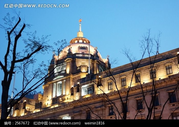 上海外滩欧式建筑图片