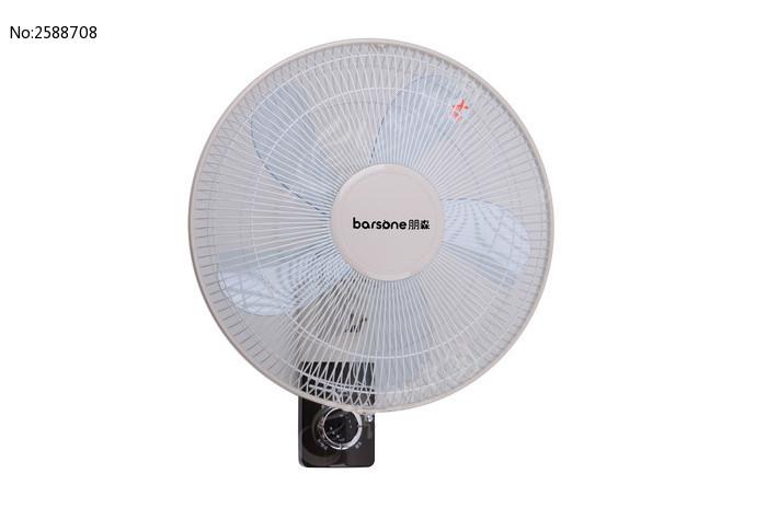 白色墙挂式电风扇图片