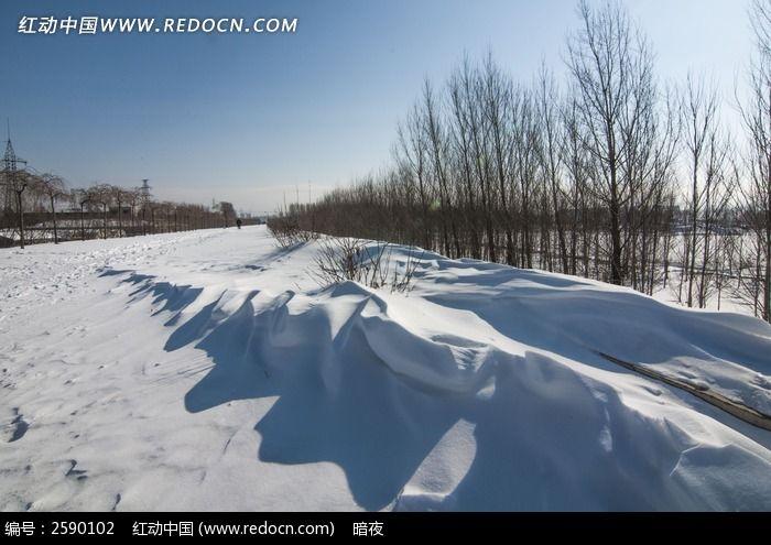 东北雪景图片,高清大图