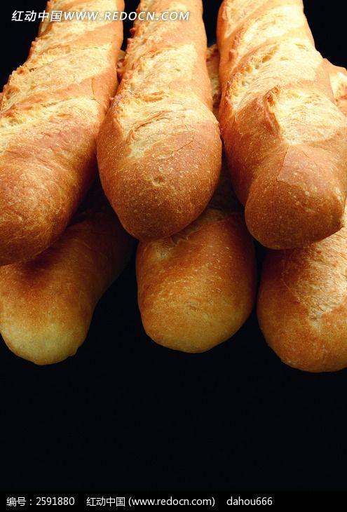 法式长棍面包图片