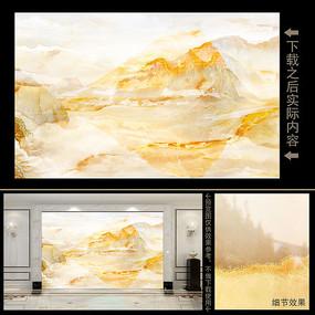 江山如画天然大理石纹背景墙