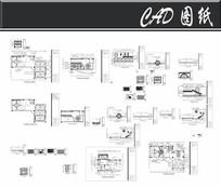 豪华国际会所桑拿豪华房施工图