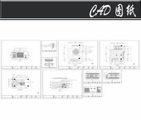 小型洗浴中心平面图