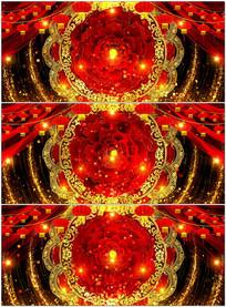 大气春节歌曲舞台LED大屏幕