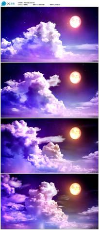唯美天空背景视频