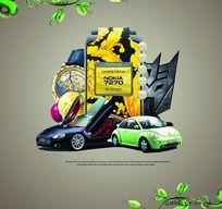 商业海报设计 CD封面