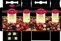 意大利威乐干白葡萄酒手提包装盒矢量设计稿展开图