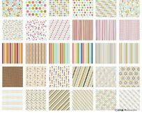历年设计的矢量背景底纹-几何纹 AI
